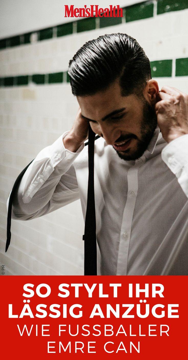 """""""Ich mag es nicht, underdressed zu sein"""", sagt Emre Can. Was er uns sonst noch über seinen eignen Stil verraten hat und seine besten Tipps zum Anzug-Kauf"""