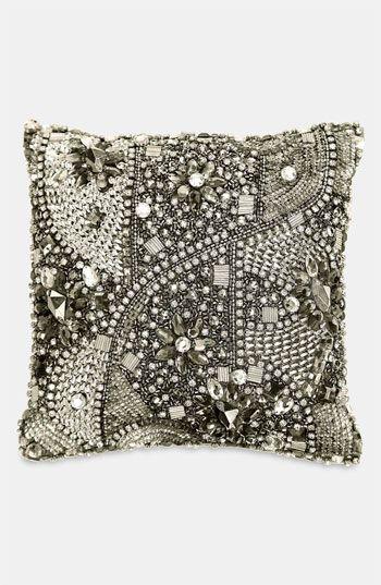donna karan modern classics layered jewels decorative pillow 10 x