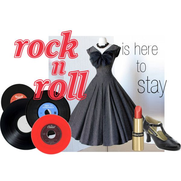 Rock n Roll Is Here To Stay @ GoJoMi by goggijollimilki on Polyvore featuring Funtasma, Dr.Hauschka and vintage