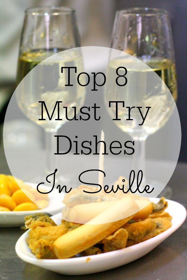 "I want them all!!! >>> There are so many typical foods in Seville that are worth trying, and the best bit is that they all come in small ""tapa"" size portions. Here are our top 8 must try dishes that you can't miss!"