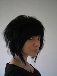 funky hairstyle- I like this messy hairstyle.