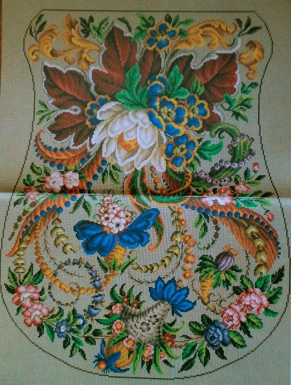 Large Berlin Woolwork Pattern ..