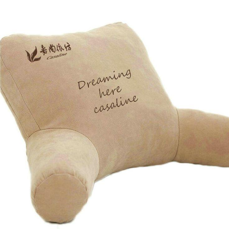 Comprar bedrest almohada para ver el reloj - Cojin lectura cama ...