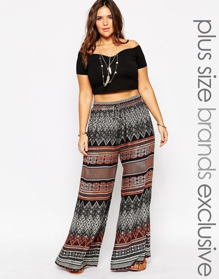 Alice & You Scarf Print Palazzo Pant - Would love it for relaxed summer days out