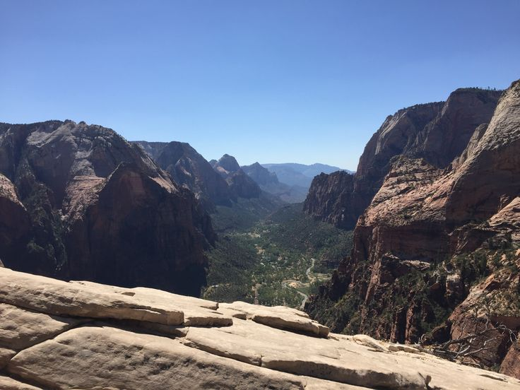 Summit at Angels Landing in Zion National Park