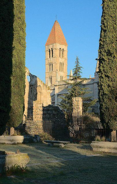 Campanario de la Iglesia de Santa María la Antigua, Valladolid.