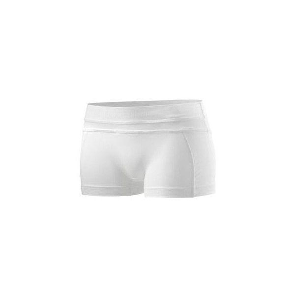 NWT adidas STELLA McCARTNEY Hot Pant S Yoga Tennis Shorts Short X35698... ❤ liked on Polyvore featuring shorts and adidas