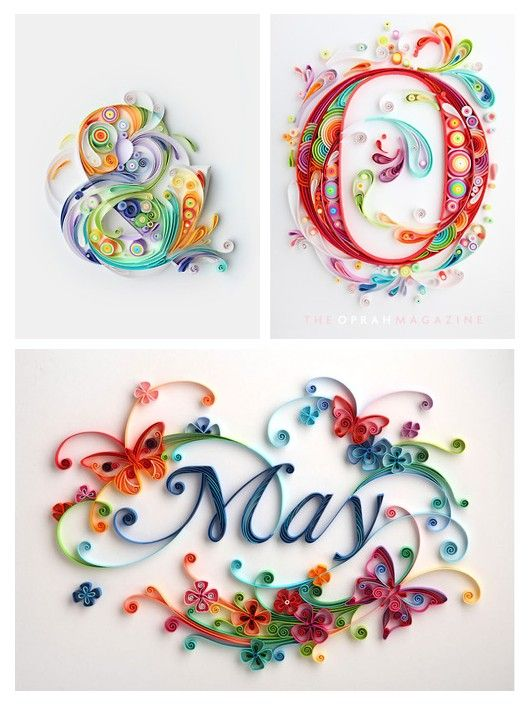Letras Quilling