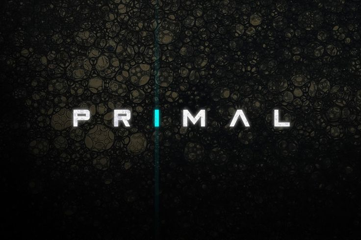 Primal - Futuristic Font by Tugcu Design Co. on Creative Market