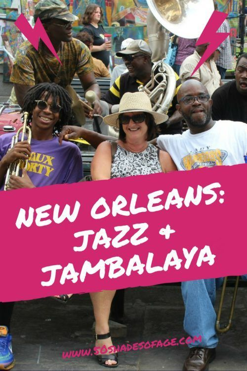 In the deep south of Louisiana USA, is the Jazz capital of the world, New Orleans, that is not only famous for its Jazz and Blues music but for its cuisine. It's such a colourful vibrant city with ...