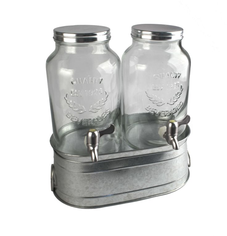 Masonware Farmhouse 3-Piece Beverage Dispenser Set