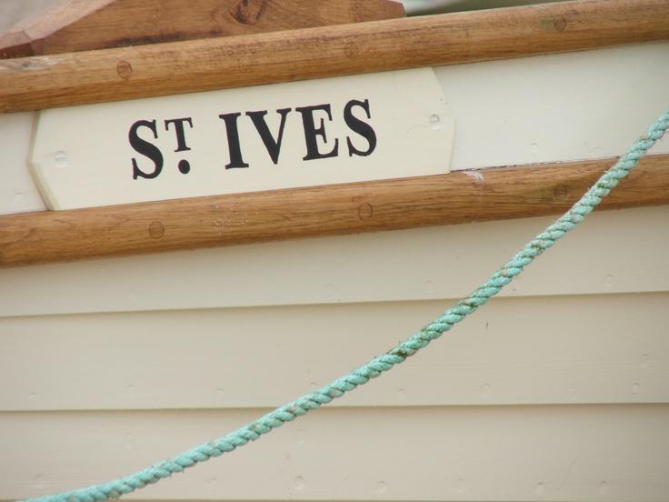 St Ives #boat
