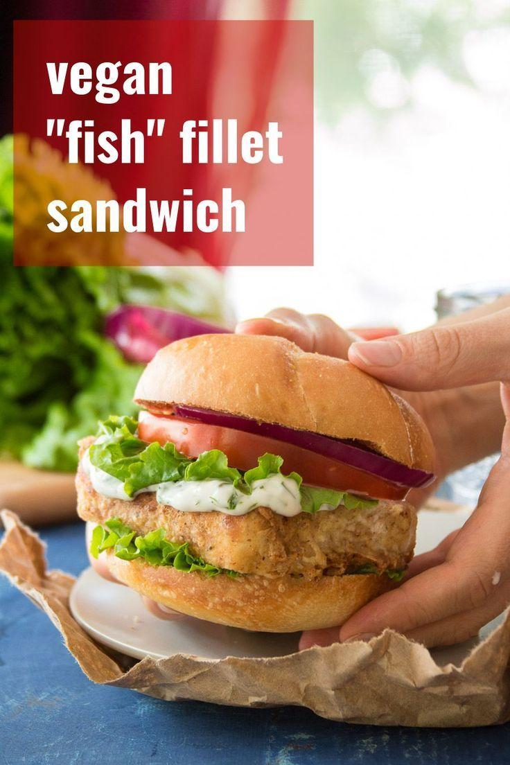 Vegan Fish Fillet Sandwiches Vegan Fish Fish Fillet Sandwich Filet Recipes