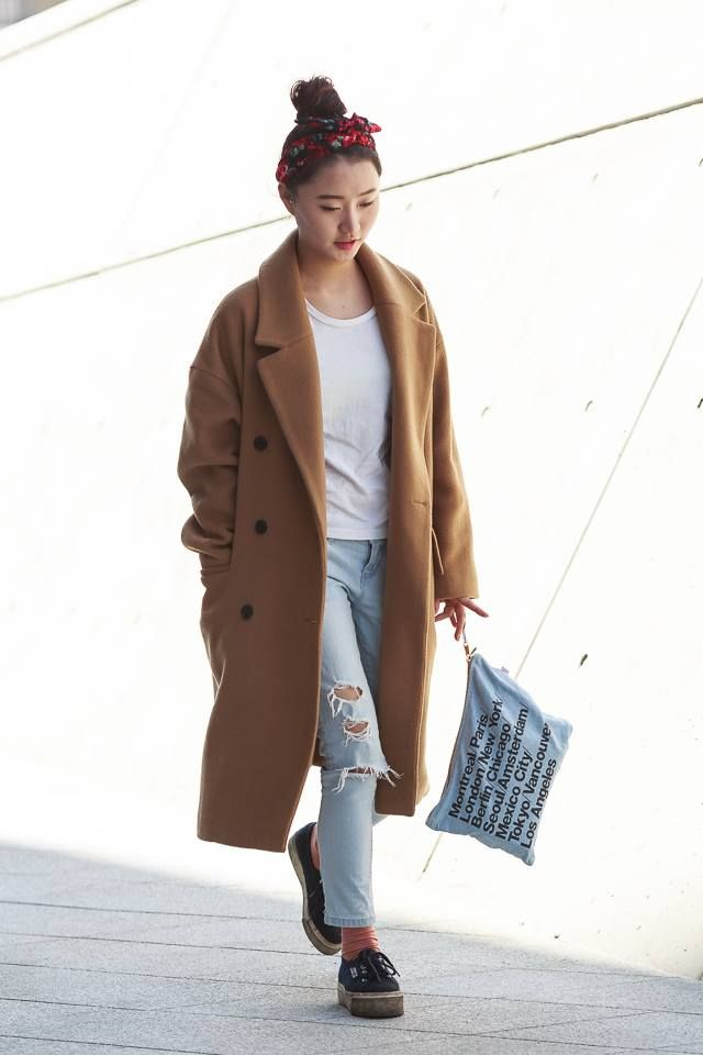 Korean Winter Street Style Images Galleries With A Bite