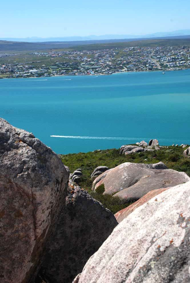 Lookout over Langebaan Lagoon. #Langebaan #langebaanlagoon warm water!