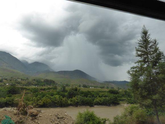 Rain vulcano