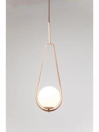 Kare design lampa wisząca loop miedziana 60246 copper lightingpendant lampspendant lightinglight designhanging lightsceiling