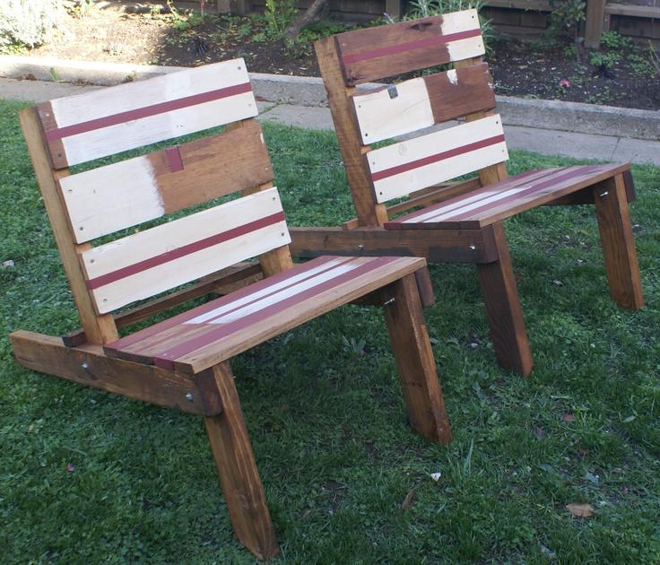 Fire Pit Chair. DIY Project. Pallets.