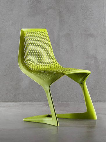 Cantilever stackable plastic chair MYTO by Plank | #design Konstantin Grcic @PlankSrl