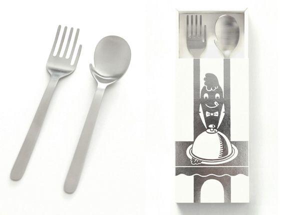 Moe Furuya's Hand Fork and Hand Spoon