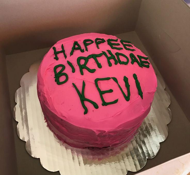 Happee Birthdae Harry cake that I made for my friend Kevinne's birthday :)