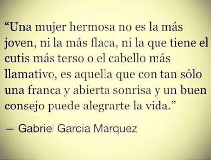 Gabriel José de la Concordia García Márquez (Aracataca, Colòmbia, 6 de març de 1927 - Mèxic, D. F., 17 de abril de 2014). Poema: El dulce sabor de una mujer exquisita.