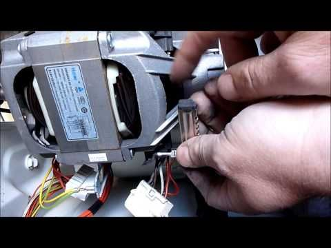 Washing machine motor wired in as series motor (suicide motor) - YouTube