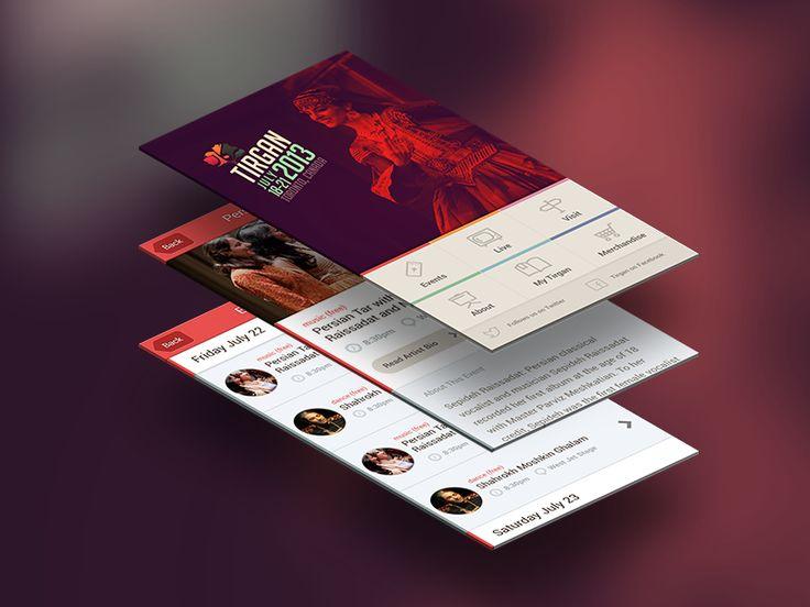 Tirgan Festival App by Pendar
