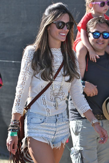 Alessandra Ambrosio @ Coachella weekend two for one more round of fun!