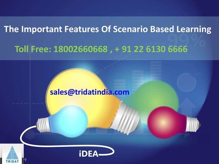 A Look At The Important Features Of Scenario Based Learning  >>>  There is a great augmentation in the demand for scenario based learning in the #eLearningcourse category from customers across the map. It presents an interactive platform for skill based training, where an engaging and attractive storyline and videos are used to motivate the learners to find a solution from their pre existing base of knowledge.  #ScenarioBasedLearning