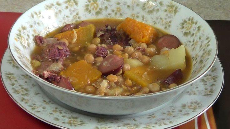 Potaje de garbanzos como cocinar un buen potaje de - Potaje de garbanzos y judias ...