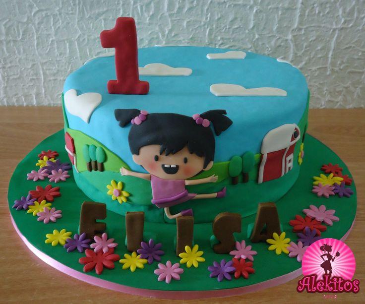 Little Lola Baby Tv Cake