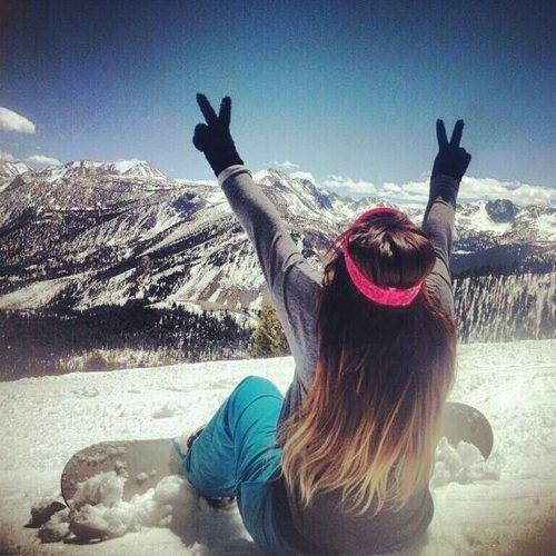 peace. mountains.