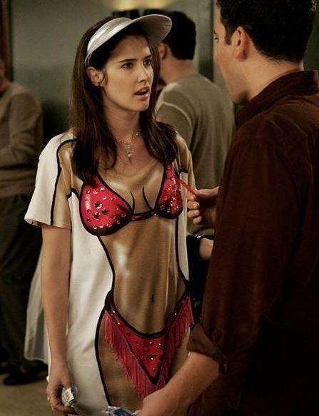 Robin's bikini t-shirt. #bikini #tee
