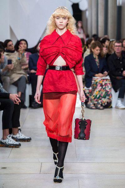 99533534127f Miu Miu at Paris Fashion Week Spring 2019 - Runway Photos  MiuMiu ...