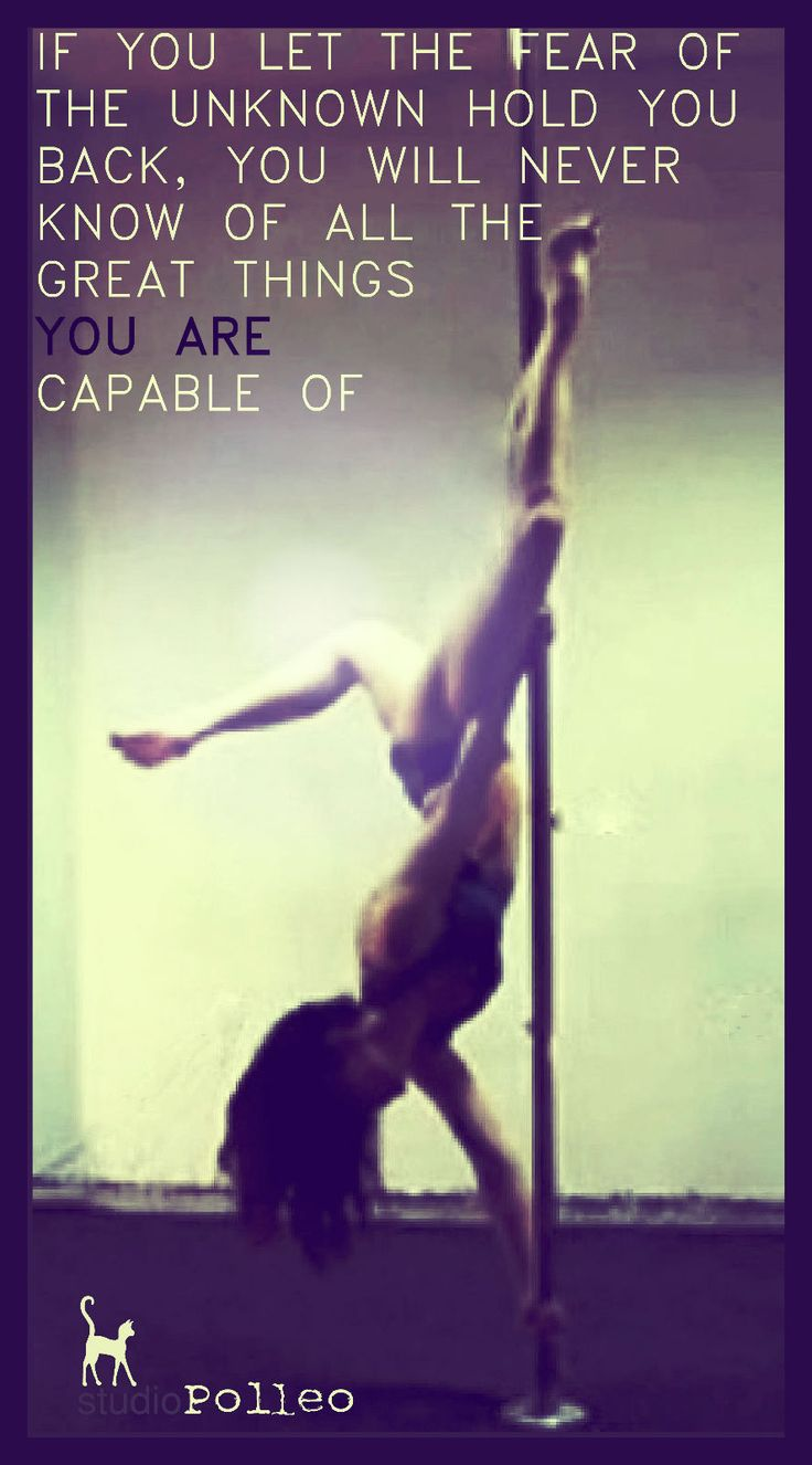 #motivational #poledance #fear