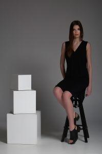suknia MELODY czarna