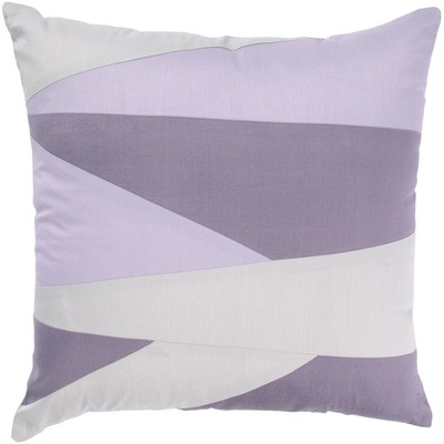 """Rizzy Home T-3043B 18"""" Decorative Pillow in Lavender $61.98  (for set of 2 Items)"""