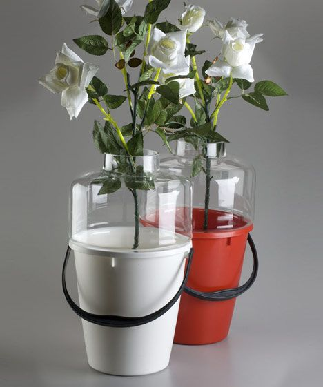 Bucket Vase by Qubus Design studio Jakub Berdych