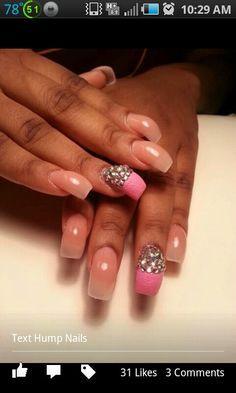 Hump nail design