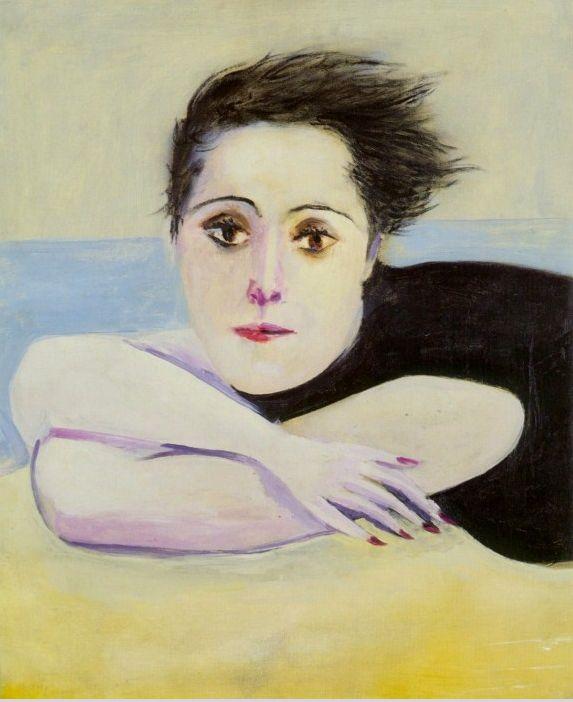 "Pablo Picasso. ""Portrait of Dora Maar"" 1936."