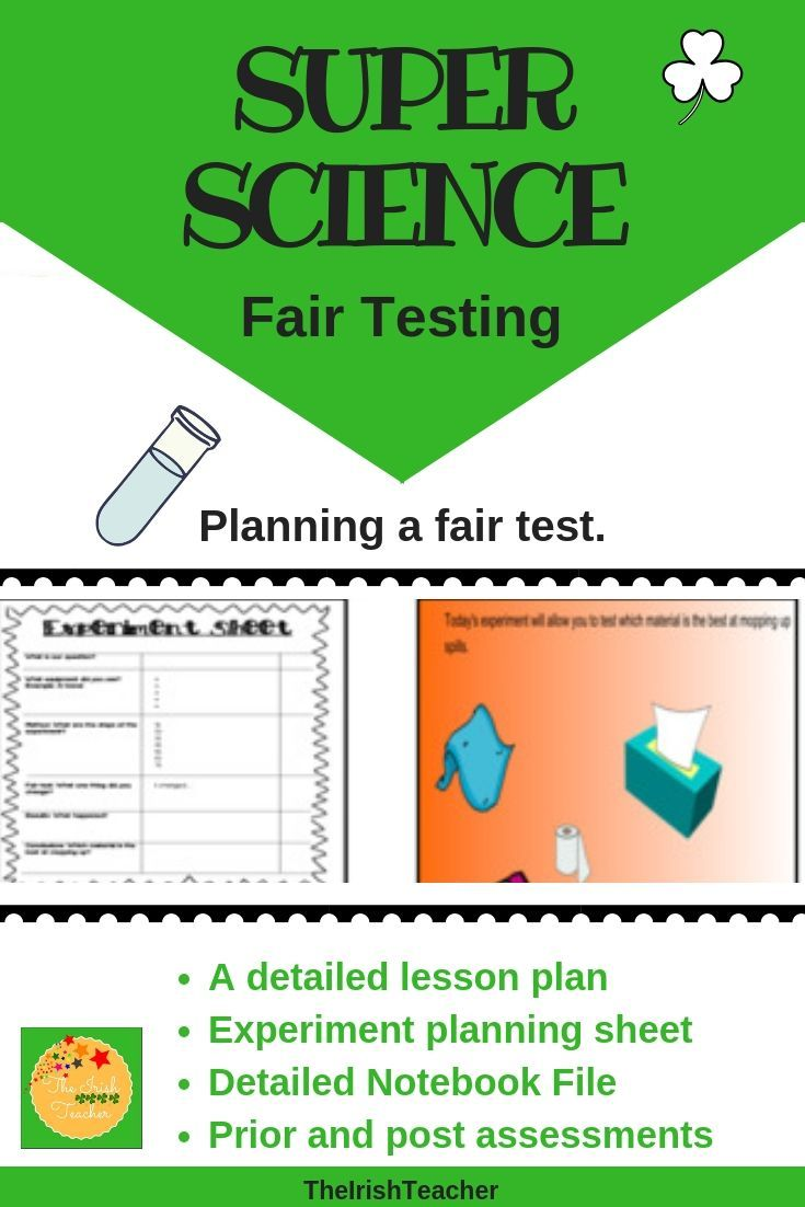 Check Out This Fair Testing Science Resource Includes A Differentiated Plan Activity Resou Fifth Grade Resources Third Grade Resources Fourth Grade Resources