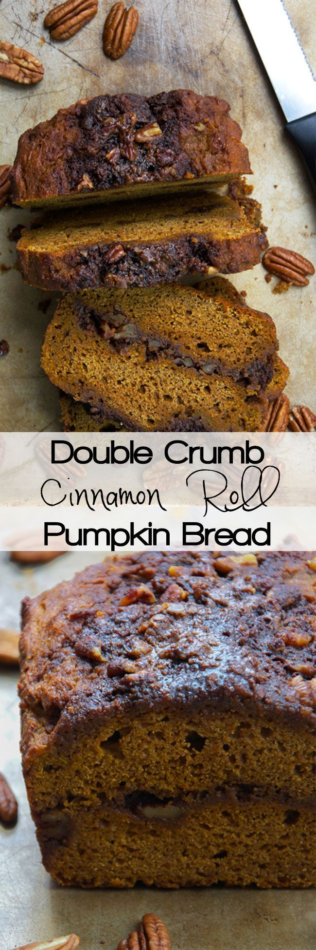 271 best bread images on pinterest bread recipes conch fritters healthier double crumb cinnamon roll pumpkin bread is moist and filled with a double sugary cinnamon forumfinder Images
