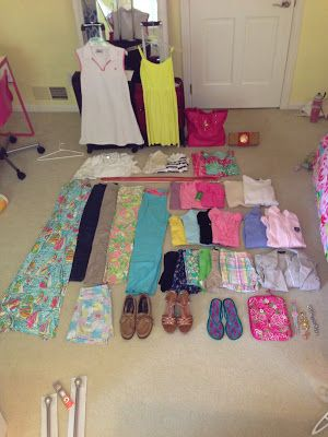 Packing list for London PreppyOHgirl