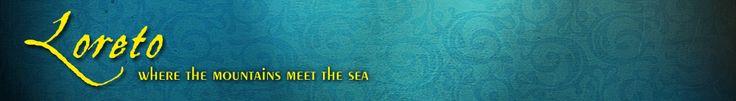 Loreto: Where the mountains meet the sea...airport