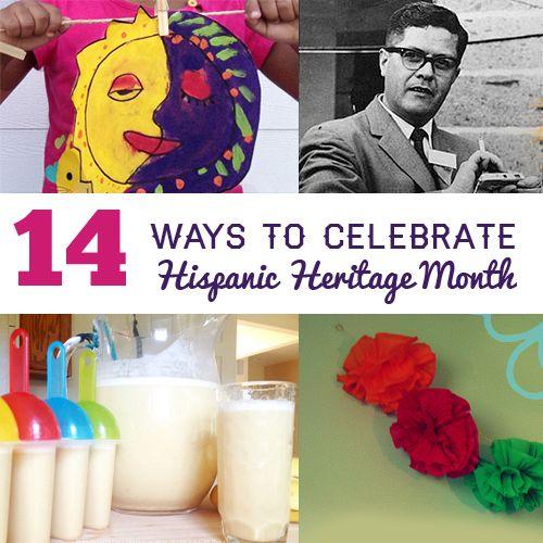 14 Ways to Celebrate Hispanic Heritage Month