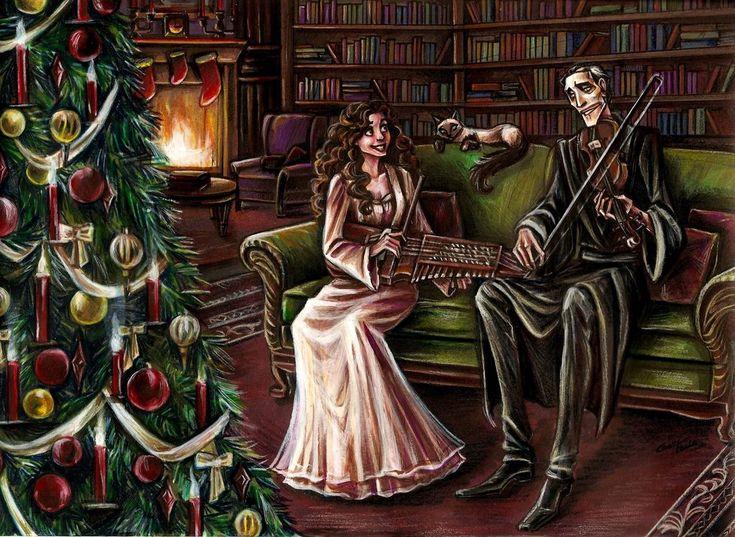 Christmas Duet by Muirin007.deviantart.com on @DeviantArt