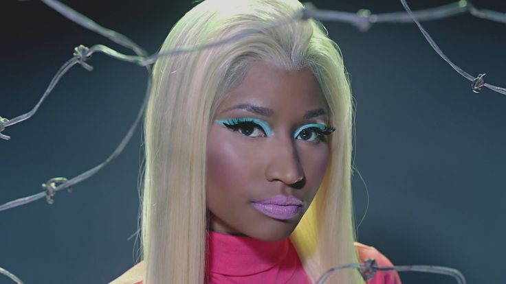 Wallpaper Nicki minaj Blonde Makeup Singer Model Style HD