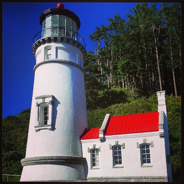 Heceta Head Lighthouse In Yachats Or