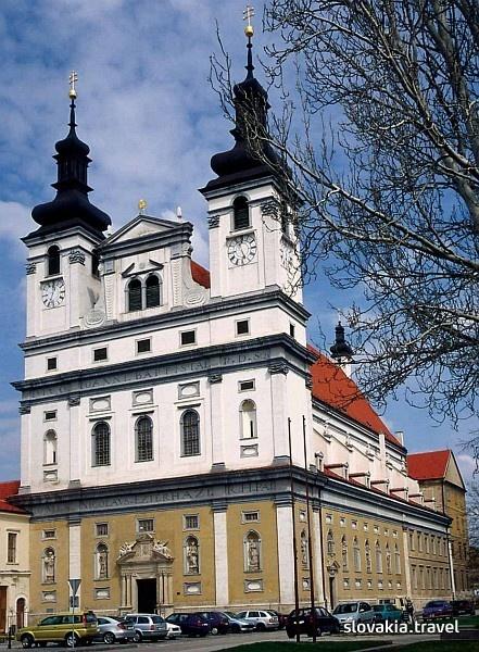 Trnava, church of John the Baptist, 17th century